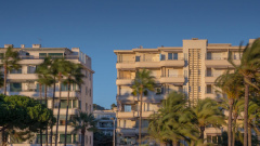 Cannes et la plage