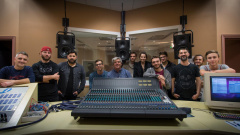 Recording Masterclass with the band Vicious Grace